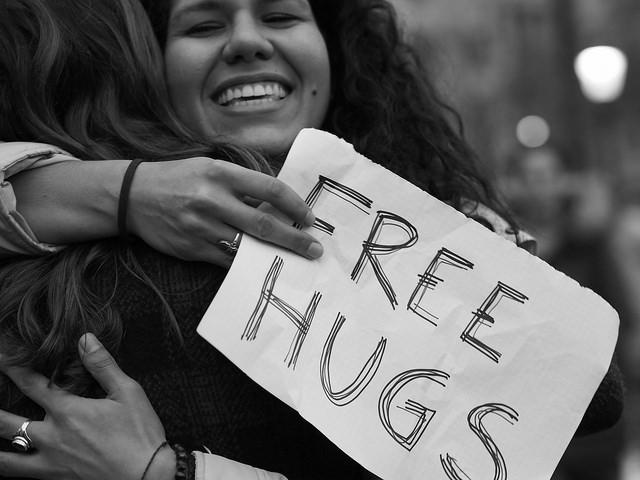 8 hugs a day