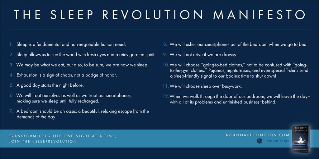 sleep revolution arianna huffington 1